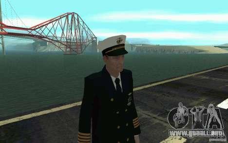 Admiral HD para GTA San Andreas tercera pantalla