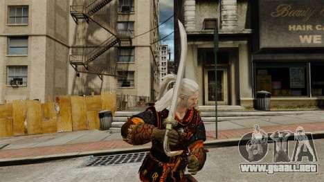 Espada del brujo v2 para GTA 4 segundos de pantalla