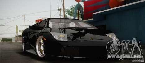 Lamborghini Murcielago 2002 v 1.0 para visión interna GTA San Andreas