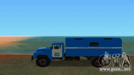 ZIL 130 para GTA Vice City left