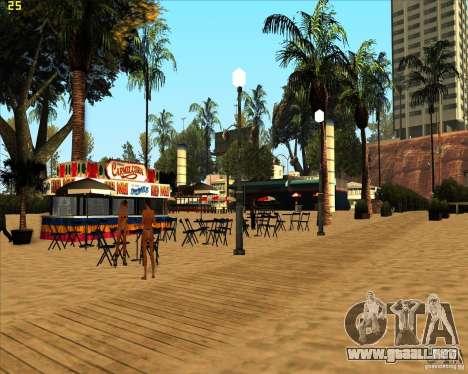 Modern beach in Los-Santos para GTA San Andreas tercera pantalla