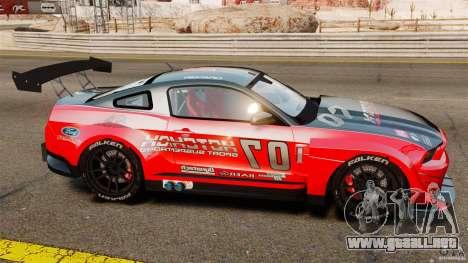 Ford Mustang 2010 GT1 para GTA 4 left