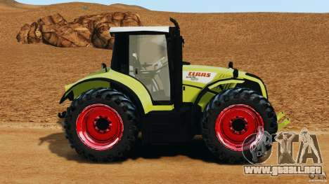 Claas Axion 850 para GTA 4 left