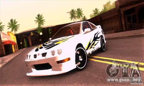 Honda Integra Tunable para vista lateral GTA San Andreas