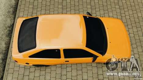 Ford Escort L 1994 Custom para GTA 4 visión correcta