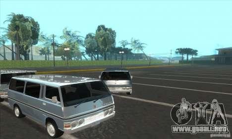 Nissan Caravan E20 para la visión correcta GTA San Andreas