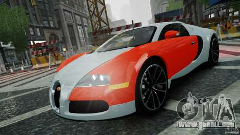 Bugatti Veyron 16.4 v1.0 wheel 1 para GTA 4 vista lateral