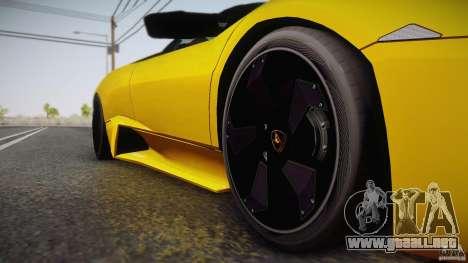 Lamborghini Reventón Roadster 2009 para visión interna GTA San Andreas