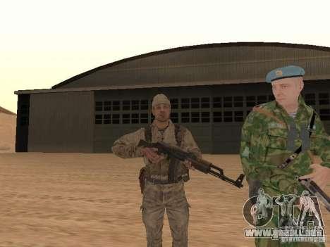 Piel de un soldado soviético para GTA San Andreas