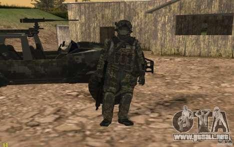 Seals soldier from BO2 para GTA San Andreas