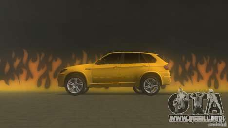 BMW X5 para GTA Vice City left