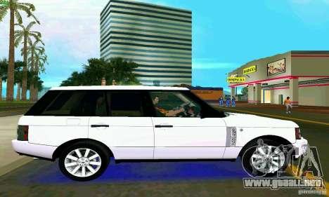 Land Rover Range Rover Supercharged 2008 para GTA Vice City vista lateral izquierdo