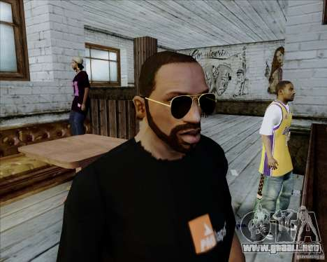 Gafas de aviador para GTA San Andreas