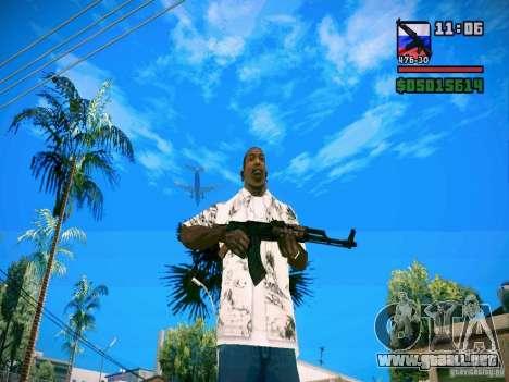 New Weapon Pack para GTA San Andreas segunda pantalla