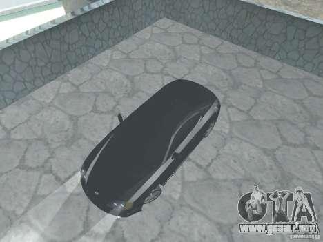 Hyundai Tiburon GT para GTA San Andreas vista hacia atrás