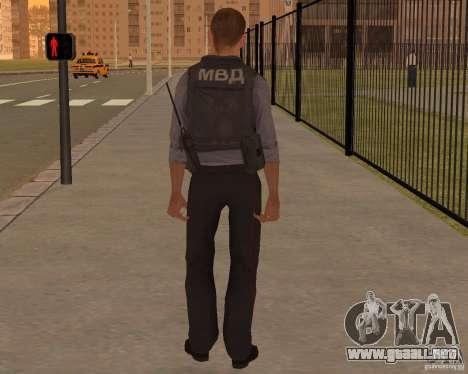 EL MINISTERIO DE ASUNTOS INTERNOS DE RUSIA para GTA San Andreas segunda pantalla