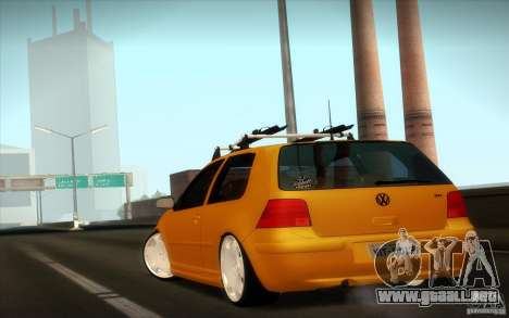 Volkswagen Golf para GTA San Andreas left