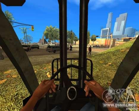 Cargador de la COD MW 2 para GTA San Andreas vista posterior izquierda