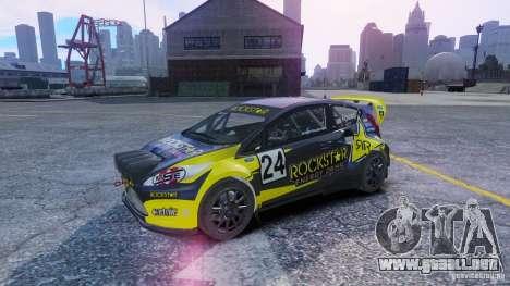 Ford Fiesta Rallycross para GTA 4