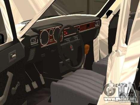 GAZ 24-10 para la vista superior GTA San Andreas
