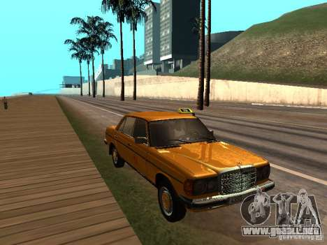 Mercedes-Benz 240D Taxi para GTA San Andreas