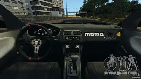 Nissan 240SX Kawabata Drift para GTA 4 vista hacia atrás