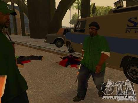 Grove Street Forever para GTA San Andreas sucesivamente de pantalla