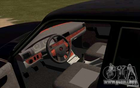 GAZ 31105 Restyling para la visión correcta GTA San Andreas