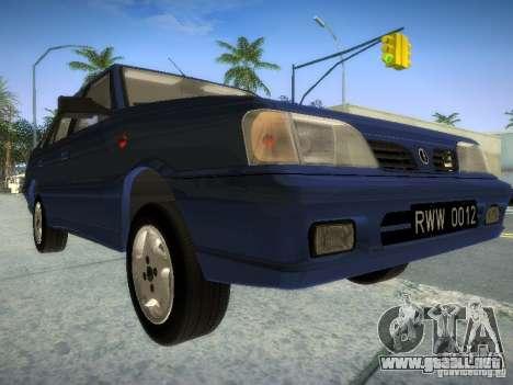 Daewoo-FSO Polonez Atu Plus 1.6 para GTA San Andreas left