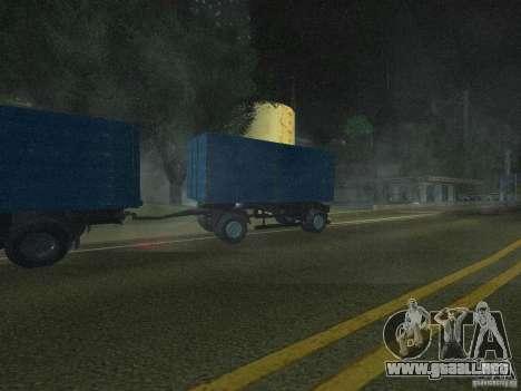 9357 Odaz trailer para GTA San Andreas vista posterior izquierda