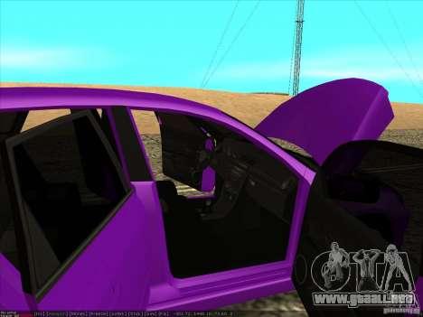 Mazda Speed 3 Stance para vista lateral GTA San Andreas