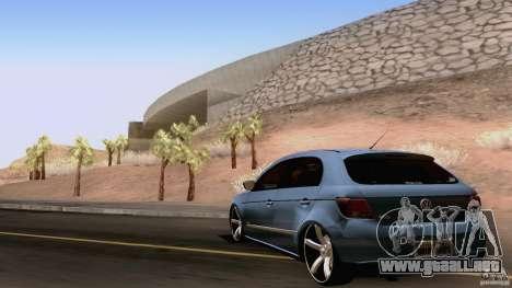 Volkswagen Golf G5 para la visión correcta GTA San Andreas