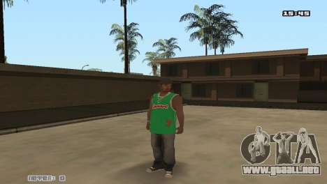 Skin Pack Groove Street para GTA San Andreas sexta pantalla