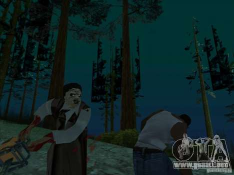 Leatherface para GTA San Andreas