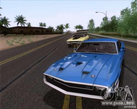 Shelby GT500 428 Cobra Jet 1969 para el motor de GTA San Andreas
