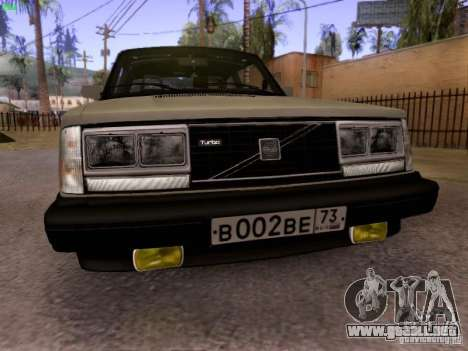 Volvo 242 Turbo para GTA San Andreas left