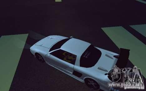 Infernus Tuning para GTA San Andreas vista posterior izquierda