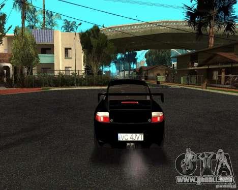 Porsche 911 GT3 RS para GTA San Andreas vista hacia atrás