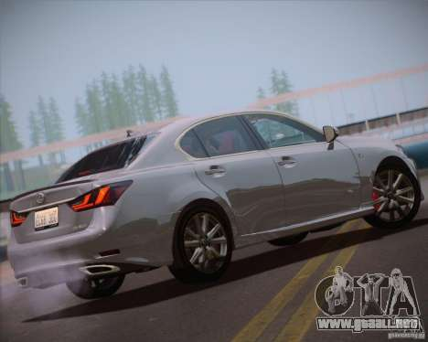 Lexus GS 350 F Sport Series IV para GTA San Andreas left