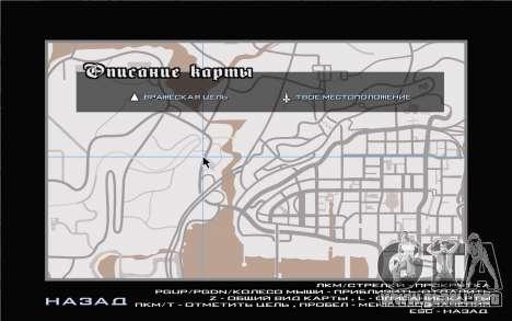 GTA V map para GTA San Andreas sucesivamente de pantalla
