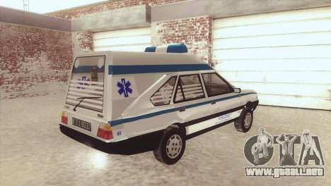 FSO Polonez Cargo MR94 Ambulance para GTA San Andreas left