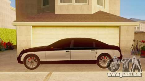 Maybach 62 para GTA San Andreas left