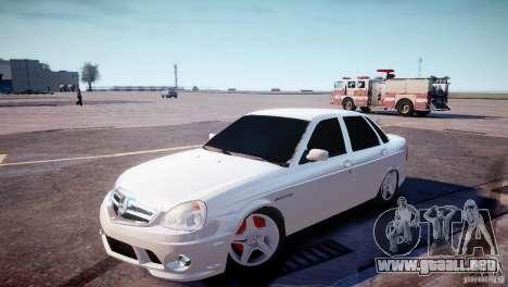 LADA Priora 2170 AMG para GTA 4 left