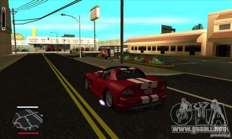 HUD for SAMP para GTA San Andreas segunda pantalla