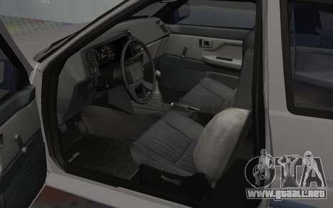 Toyota Corolla GT-S Tunable para GTA San Andreas vista hacia atrás