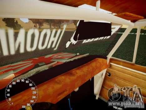 Edición de VAZ-2101 Drift para GTA 4 vista superior