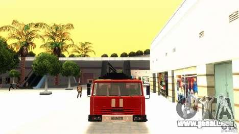 KAMAZ 53229 para GTA San Andreas left