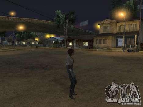 Remember Me Nilin para GTA San Andreas tercera pantalla