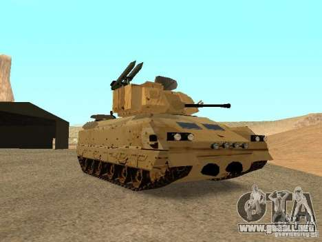 M2A3 Bradley para GTA San Andreas