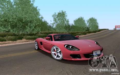 Porsche Carrera GT para la visión correcta GTA San Andreas